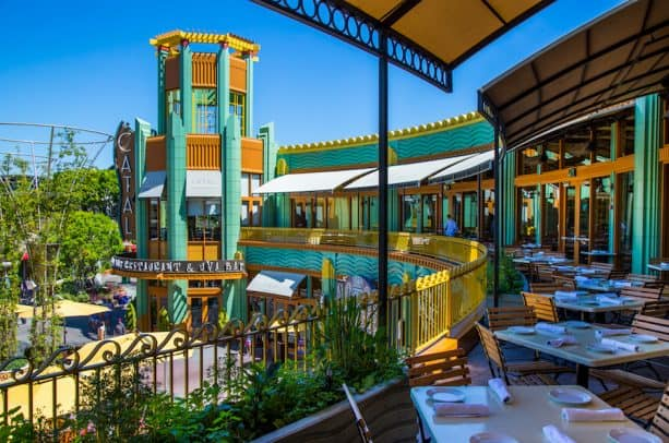 Catal Restaurant at Disneyland Resort