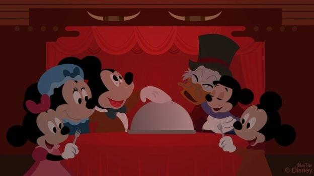 Disney Doodle: Scrooge Finds the Holiday Spirit at Disney's Fort Wilderness Resort & Campground