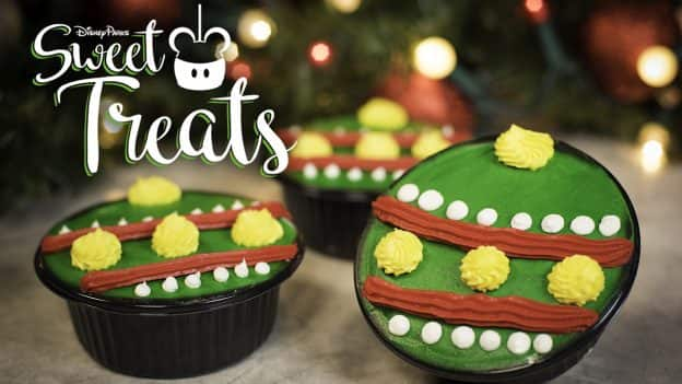 Holiday Ornament Brownies at Casey's Corner in Magic Kingdom Park