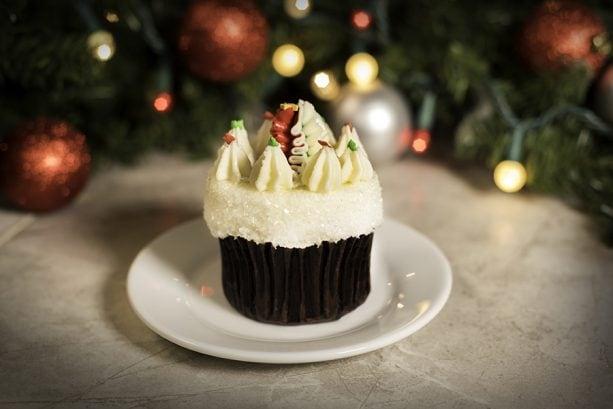 Holiday Cupcake at Sunshine Seasons in Epcot