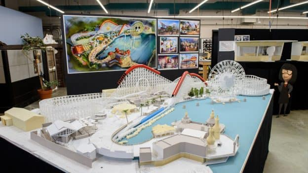 Working Model of Pixar Pier Shows Newly Themed Areas Coming