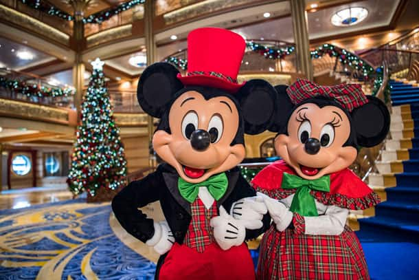 Disney Cruise Line Verry Merrytime Cruises - Mickey and Minnie Mouse