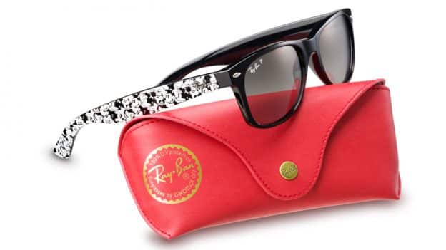 a7018d95e8 Ray-Ban Sunglasses Featuring Mickey Mouse Are Back by Popular Demand ...