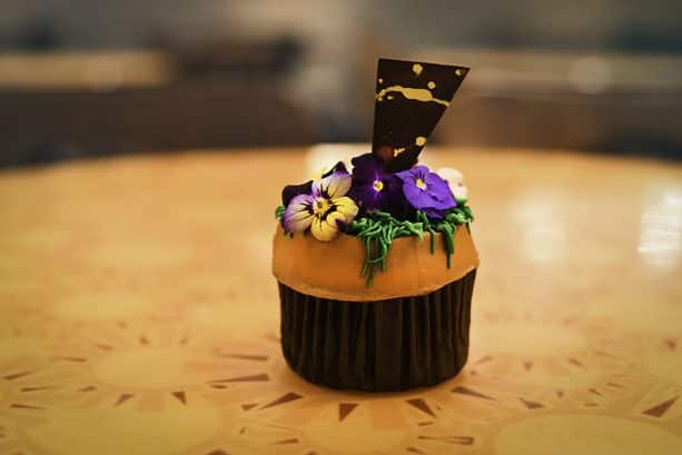 Flower Cupcake at Sunshine Seasons in Epcot