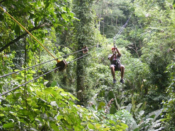 Tropical Forest Canopy Zip Line and Aerial Tram Combination - Costa Rica with Disney Cruise Line