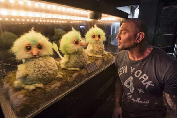 Dave Bautista Visits Guardians of the Galaxy - Mission: BREAKOUT! at Disney California Adventure Park