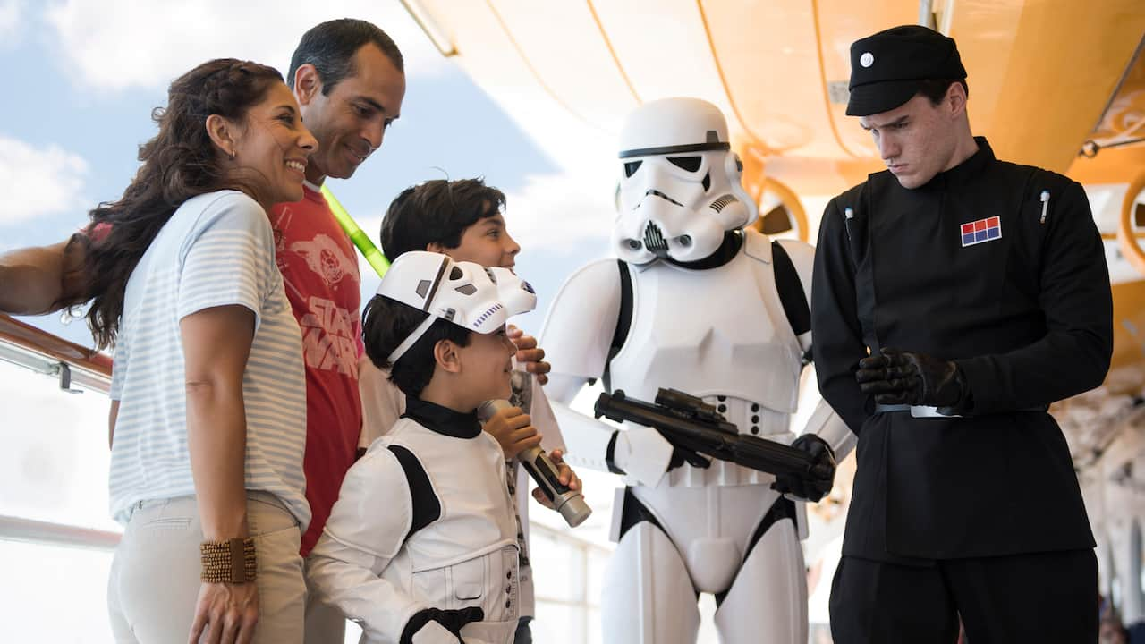 Star Wars Day At Sea Returns To The Disney Fantasy Today -4522