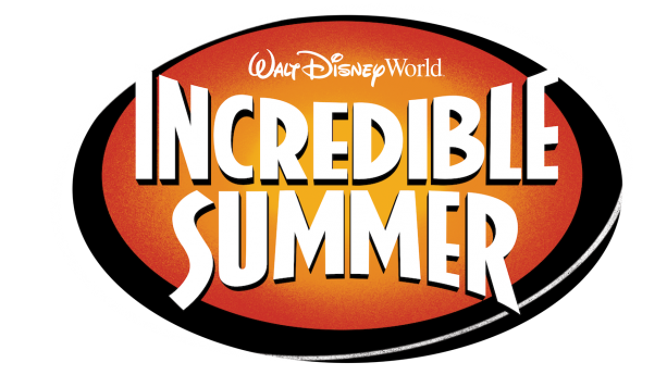 Incredible Summer at Walt Disney World Resort logo