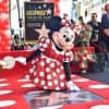 Minnie Mouse and her Hollywood Walk of Fame Star