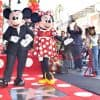 Mickey and Minnie at Minnie's Hollywood Walk of Fame Star