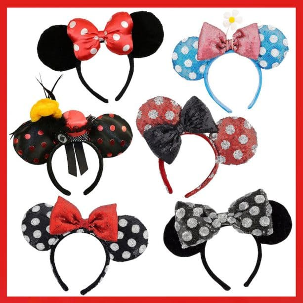 New Minnie Mouse-Inspired Products #RockTheDots for National Polka Dot Day 2018 at Disney Parks