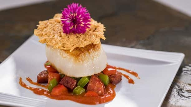 Pan-Seared Scallop at Epcot International Festival of the Arts