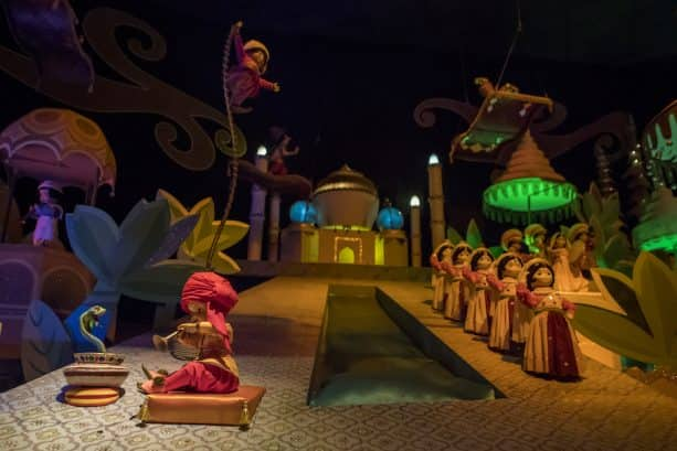 'it's a small world'