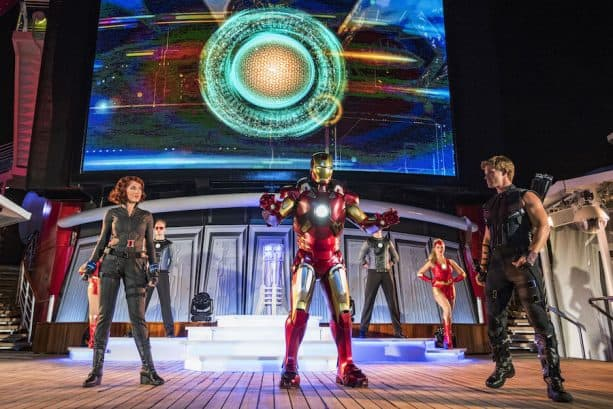'Marvel Heroes Unite' During Marvel Day at Sea with Disney Cruise Line