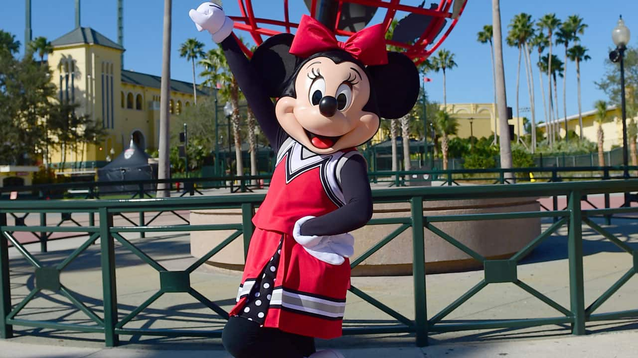Three Ch'EARS for the Debut of Minnie Mouse's New Cheerleading Uniform