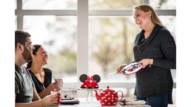 Rock the Dots Tea Party with Minnie Mouse Dome Cake from Amorette's Patisserie at Disney Springs
