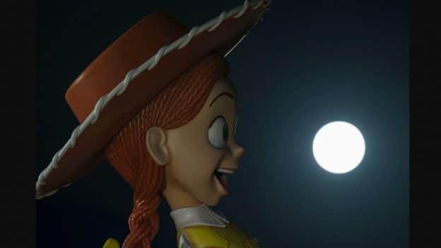 Rare 'Super Blue Blood Moon' Dazzles at Toy Story Land
