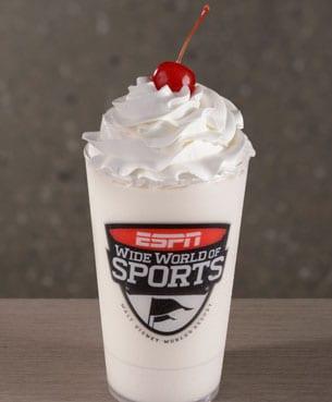 Vanilla Milkshake at The Arena at ESPN Wide World of Sports