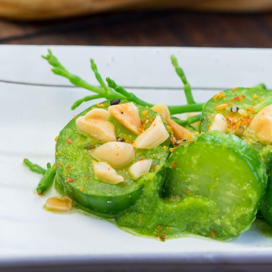 Compressed Asian Cucumbers at Disney California Adventure Food & Wine Festival