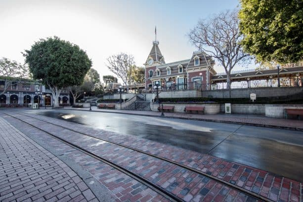 Main Street USA at Disneyland
