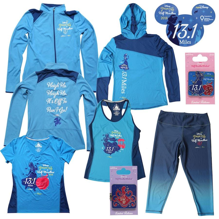 2018 Disney Princess Half Marathon Merchandise