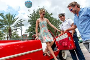 Amphicars at The BOATHOUSE at Disney Springs