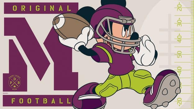 Mickey Football Wallpaper