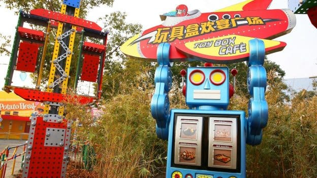 Toy Box Café at Disney•Pixar Toy Story Land at Shanghai Disneyland