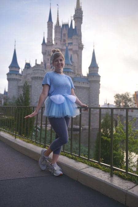 Cinderella-inspired look for 2018 Disney Princess Half Marathon Weekend presented by Children's Miracle Network Hospitals