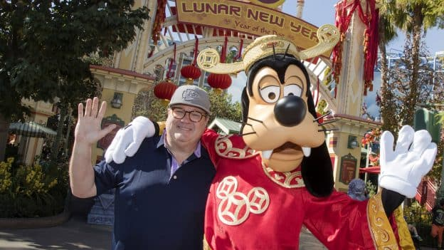 Actor Eric Stonestreet Celebrates Lunar New Year at Disney California Adventure Park