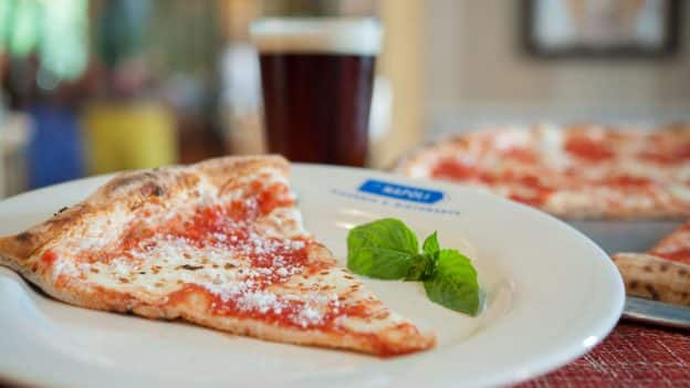 Cheese Pizza Slice at Via Napoli Ristorante e Pizzeria at Epcot