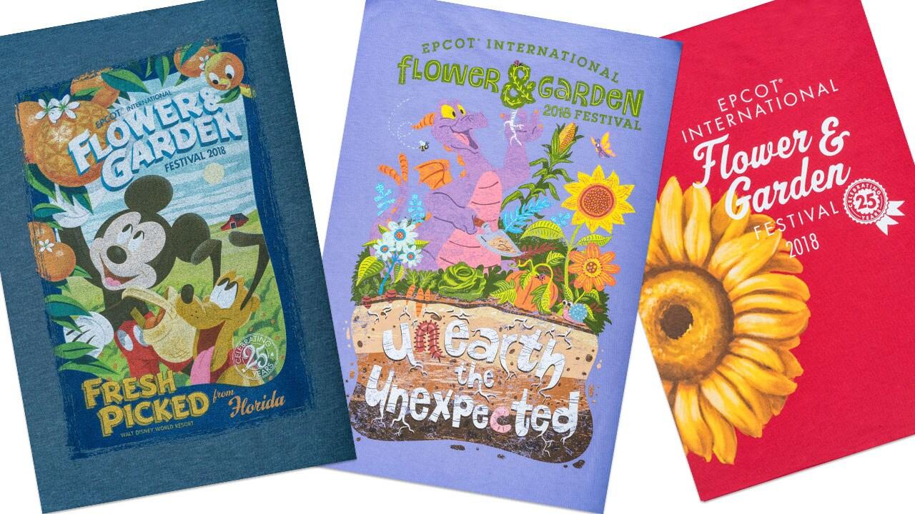 Garden of New Merchandise Blooms for 25th Epcot International Flower & Garden Festival