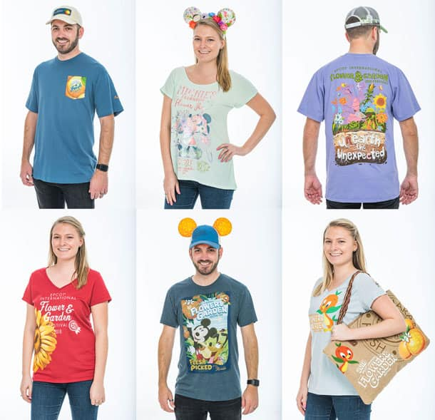 New Merchandise Blooms for 25th Epcot International Flower & Garden Festival - Apparel and Accessories