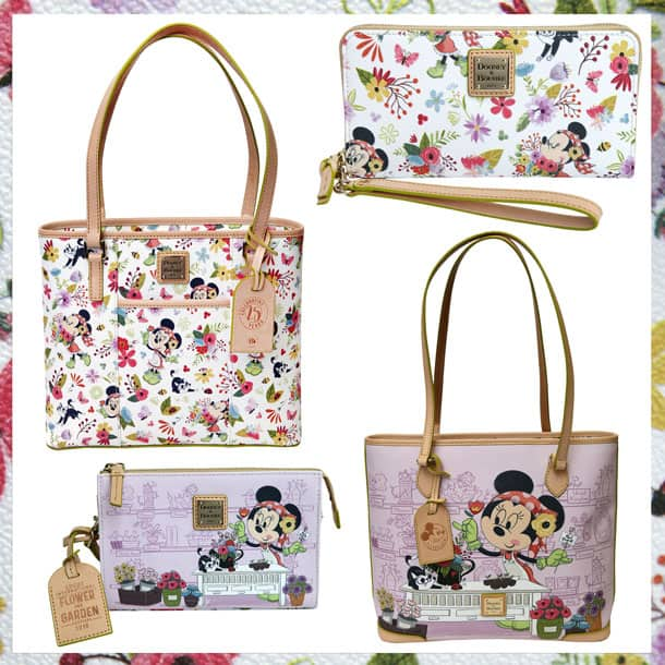 New Merchandise Blooms for 25th Epcot International Flower & Garden Festival - Dooney & Bourke Handbags