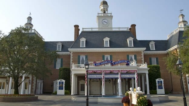 Epcot's American Adventure Attraction
