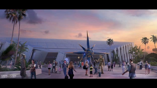 'Guardians of the Galaxy' Attraction at Epcot