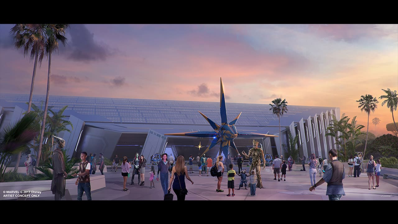 'Guardians of the Galaxy' Attraction at Epcot Will Be One of