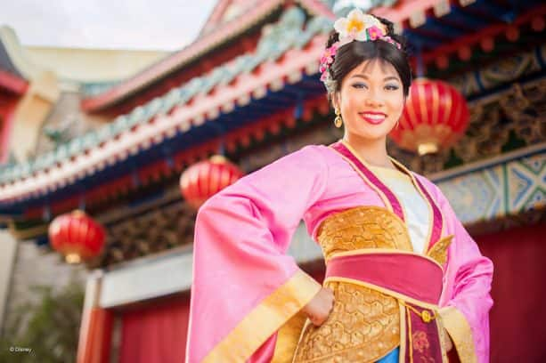 Mulan at China Pavilion at Epcot