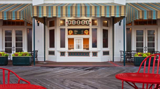 Pizza Window at Disney's BoardWalk