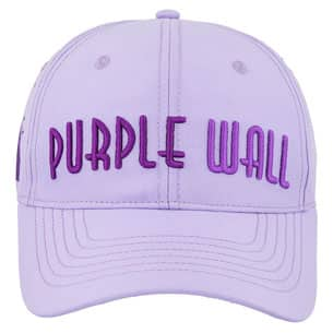 Meet Me at the Purple Wall Baseball Cap - Front