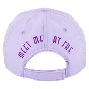 Meet Me at the Purple Wall Baseball Cap - Back