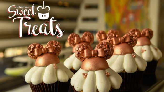 Rose Gold Minnie Hat Cupcakes at Disney's Contemporary Resort