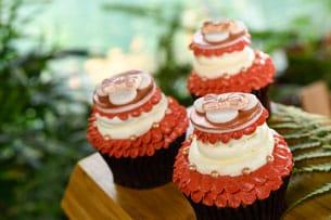 Rose Gold Cupcake at Disney's Polynesian Village Resort