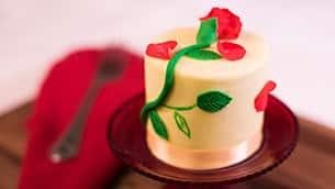 Rose Petit Honey Cake at Amorette's Patisserie at Disney Springs