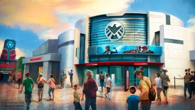 New Renderings Of Marvel Attraction Coming To Hong Kong Disneyland