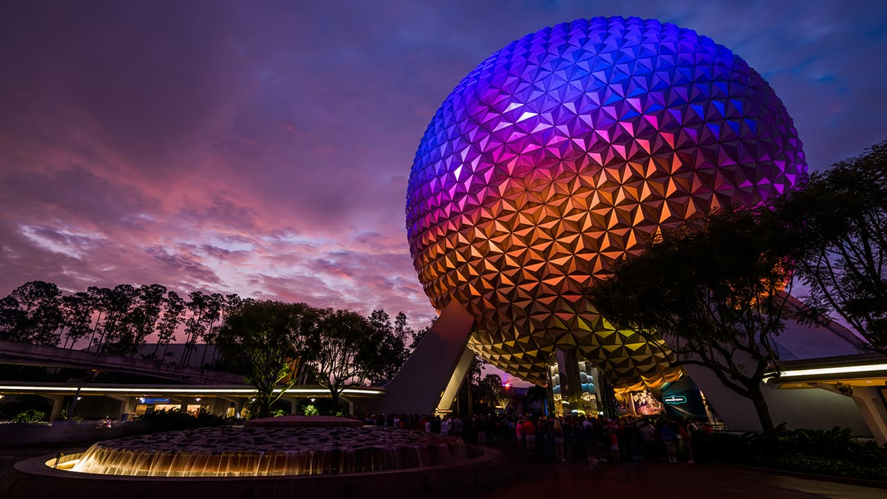 DisneyParksLIVE: Watch the Replay of 'Sunrise at Epcot' Now | Disney Parks Blog