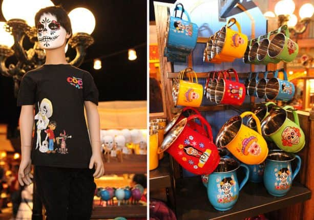 'Coco' Merchandise at Mexico Pavilion