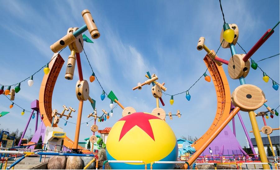 Disney Pixar Toy Story Land Shanghai Disneyland