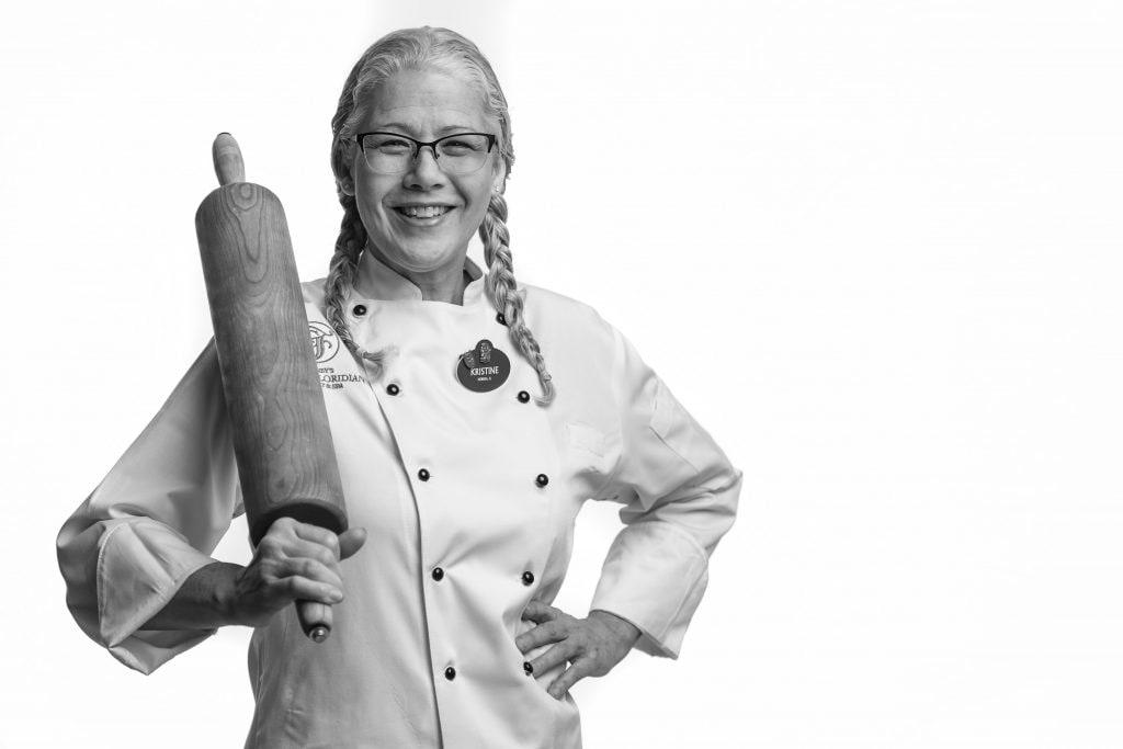 Pastry Chef Kristine Farmer at Disney's Grand Floridian Resort & Spa