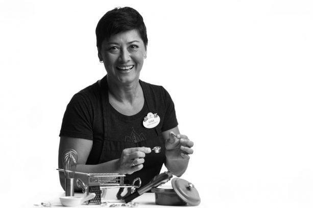 Chef Gina Greene from Mama Melrose's Ristorante Italiano at Disney's Hollywood Studios